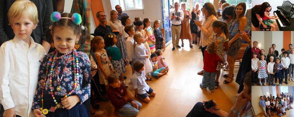 Schüler der Musikschule Philharmonika in Berlin-Charlottenburg/Wilmersdorf - Klavierunterricht